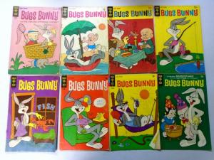 Silver + Bronze Age Gold Key Bugs Bunny Comic Lot, 35 Diff. Very Good Condition