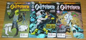Flashpoint: the Outsider #1-3 VF/NM complete series - james robinson - dc comics