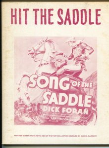 Hit The Saddle 1969-vintage Western movie posters and ad repros-Rex Allen-VG