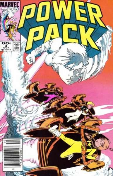 Power Pack (1984 series) #3, VF+ (Stock photo)