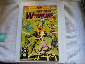 1991 MARVEL COMIC ANNUAL PART 2 KINGS OF PAIN THGE NEW WARRIORS # 1