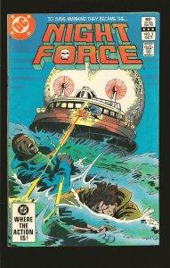 DC Comics Night Force Vol 1 No 3 October 1982
