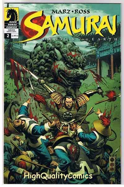 SAMURAI HEAVEN & EARTH #2, NM+, Feudal Japan, Ross, 2004, more in store