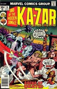 Ka-Zar #18 (ungraded) stock photo / 001