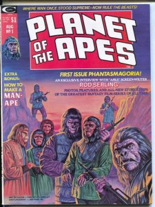Planet of The Apes #1 1974-Marvel-1st issue-George Tuska-Mike Ploog-comics & ...