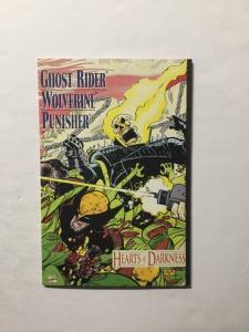 Ghost Rider Wolverine Punisher Heart of Darkness 1 Nm Near Mint