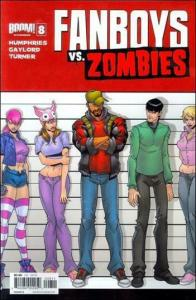 Fanboys Vs. Zombies #8B VF/NM; Boom! | save on shipping - details inside