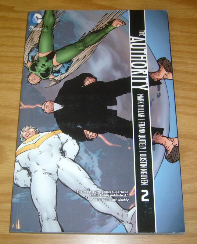 the Authority TPB 2 VF/NM mark millar - frank quitely - collects 13-29 wildstorm