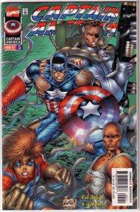 Captain America   vol. 2   # 5 VF/NM (Heroes Reborn)