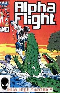 ALPHA FLIGHT (1983 Series)  #41 Very Fine Comics Book