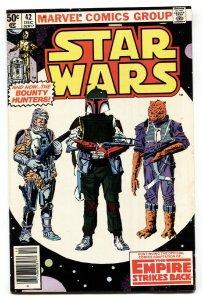 STAR WARS #42-First Boba Fett-FN/VF-Raw-Key comic book.
