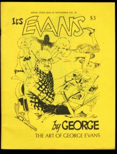 CARTOONEWS #20-1977-SPECIAL GEORGE EVANS ISSUE FN