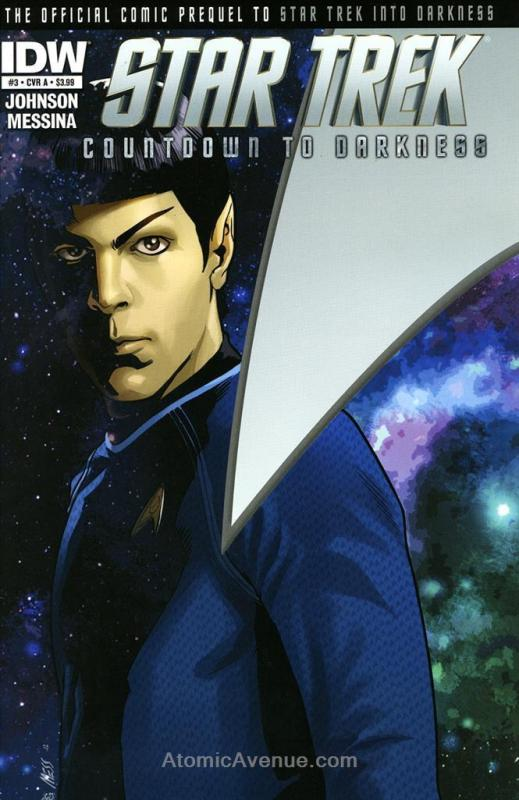 Star Trek: Countdown to Darkness #3A VF/NM; IDW | combined shipping available -