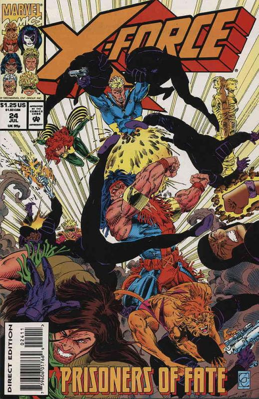 X-Force #24 VF/NM Marvel - save on shipping - details inside