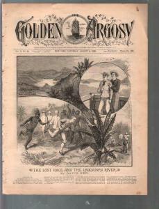 Golden Argosy #296-8/4/1888-Munsey-Argosy precursor-David Ker-Lost Race-G