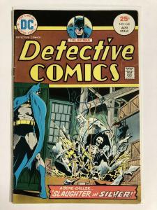 DETECTIVE 446 FINE  April 1975 COMICS BOOK