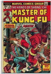 MASTER OF KUNG FU 20VG June 1974 (INKED)