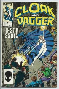 CLOAK and DAGGER #1, FN/VF, 1985, Sinner's All, more Marvel in store