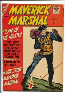 Maverick Marshal #1 1958- Charlton-First issue-Introduces Mark Stone-VG/FN
