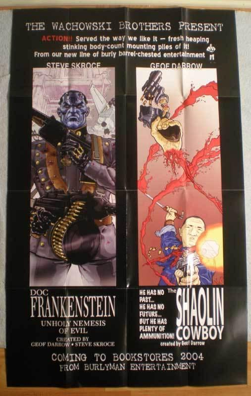 WACHOWSKI BROTHERS Promo poster, 24x39, 2004, Unused, more in our store
