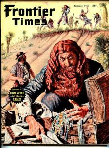 Frontier Times-Summer 1961-Buffalo Bill-Sitting Bull-Colt pistol-VG