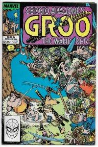 Groo The Wanderer #44 (Marvel, 1988) FN