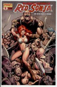 RED SONJA #4, NM, She-Devil, Sword, Mel Rubi, 2005, more RS in store