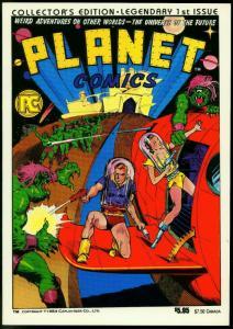 Planet Comics #1- Pacific Comics reprint- Fiction House VF