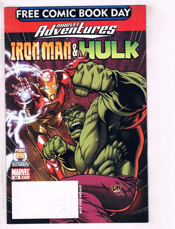 7 free comic book day comics 1 iron man 3 sonic hulk x men bongo