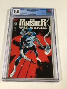 Punisher War Journal 50 Cgc 9.8 White Pages Marvel