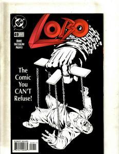 Lot of 12 Lobo DC Comic Books #49 50 51 52 53 54 55 56 57 58 59 60 J407