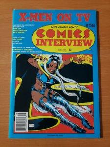 David Anthony Kraft's Comics Interview #58 ~ NEAR MINT NM ~ 1988 X-Men Storm