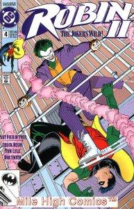 ROBIN II: THE JOKER'S WILD (1991 Series) #4 NEWSSTAND Near Mint Comics Book