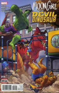 Moon Girl And Devil Dinosaur #14 VF/NM; Marvel | save on shipping - details insi