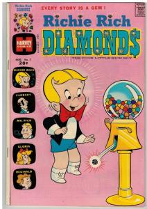 RICHIE RICH DIAMONDS (1972-1982) 7 VG-F Aug. 1973