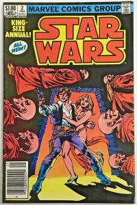 STAR WARS ANNUAL#2 VF/NM 1982 MARVEL BRONZE AGE COMICS