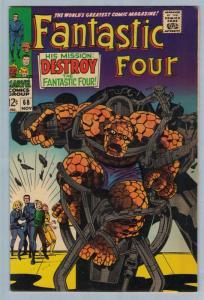 Fantastic Four 68 Nov 1967 VF (8.0)