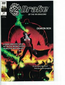 Drake of the 99 Dragons: Demon Box #1 VF/NM comic adapted from Xbox video game