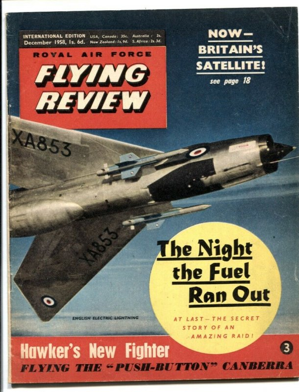 Royal Air Force Flying Review December 1958-Night Fuel Ran Out