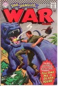 STAR SPANGLED WAR 133 VG    July 1967 COMICS BOOK