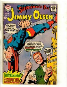 Lot Of 5 Superman's Pal Jimmy Olsen DC Comic Books # 109 120 125 127 130 GK5