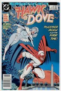 HAWK & DOVE #2, VF+, Kesel, 1988, DC Comics, Liefeld, more in store