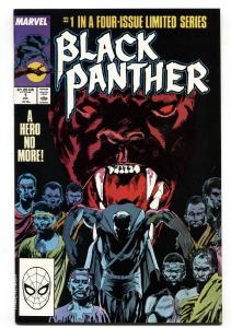 BLACK PANTHER #1 comic book 1988-Marvel-First issue NM-