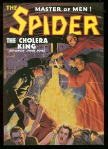 THE SPIDER #31- PULP REPRINT-CHOLERA KING 4/36-HERO PUL VF/NM