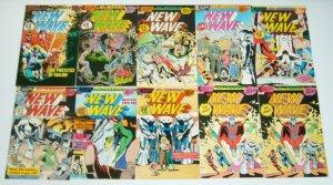 New Wave #1-13 VF/NM complete series + error - erik larsen - eclipse comics set