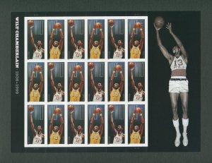 Wilt Chamberlain US postage Stamp Commemorative Sheet  2014