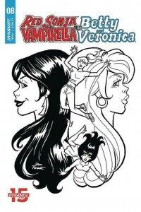RED SONJA VAMPIRELLA BETTY VERONICA (2019 DYNAMITE) #8 9 Covers PRESALE-01/29