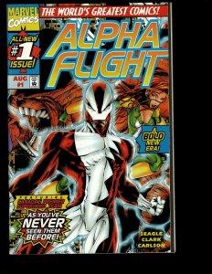 12 Alpha Flight Marvel Comics 1 2 3 4 5 6 8 10 11 12 13 14 Wolverine Canada GK16