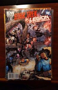 Star Trek/Legion of Super-Heroes #2 (2011)