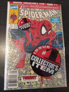 SPIDER-MAN #1 BAGGED VARIANT TODD MCFARLANE